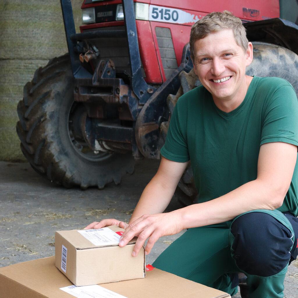 Jan Haase aus Ketelsbüttel nutzt den Granit-Onlineshop von Beckmann Bargenstedt